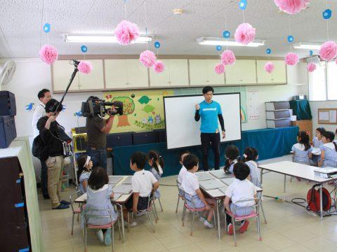 NHK「おはよう日本」で当社プログラミング教育の取り組みが報道されました